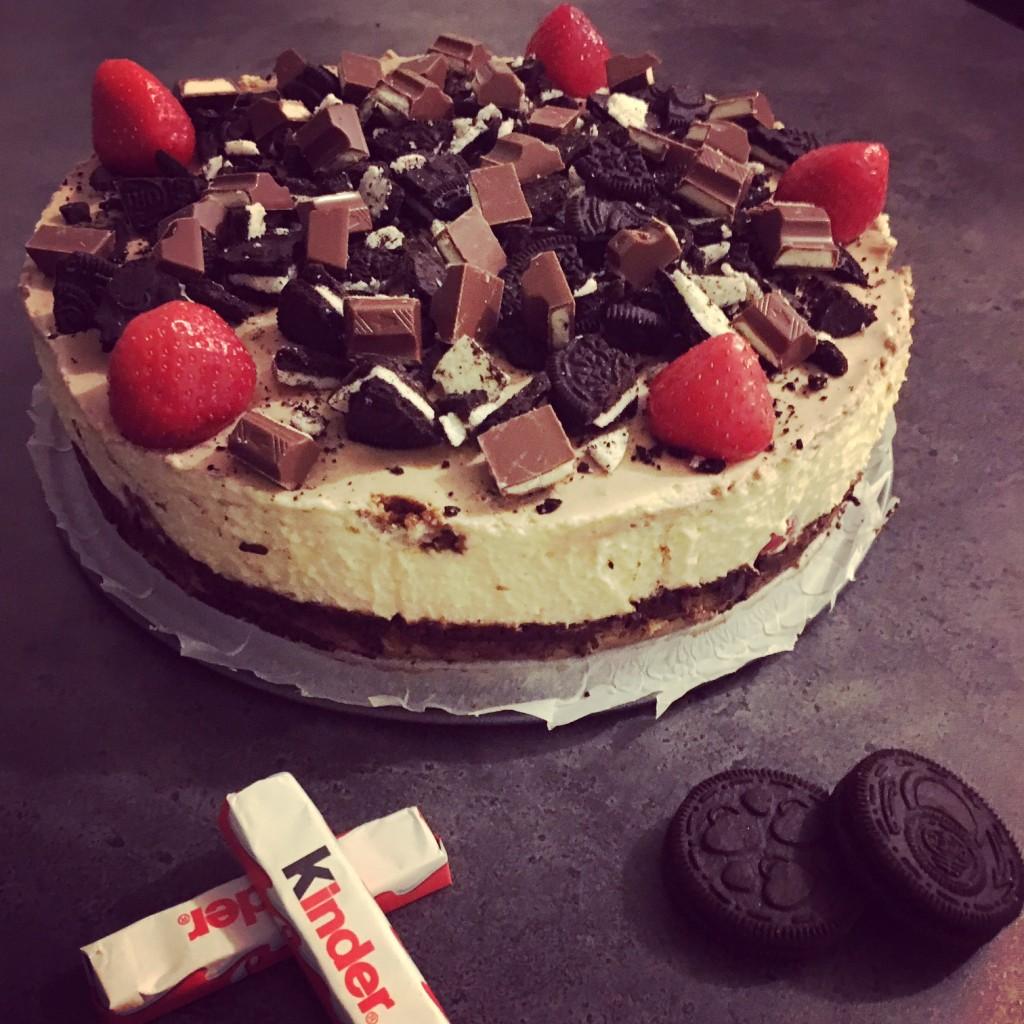 Tiramisu cheesecake met OREO!!!